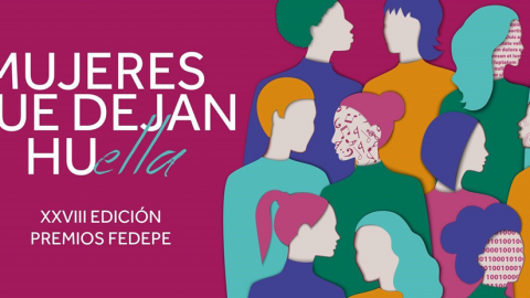 LA PRESIDENTA DE MICROSOFT, PILAR LÓPEZ; LA FUNDADORA DE BBES, BISILA BOKOKO; LA AGENCIA EFE Y ADIDAS, PREMIOS FEDEPE 2019