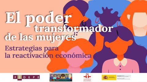 Cartel evento El poder transformador de las mujeres